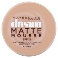 Maybelline Dream Matte тональный мусс SPF 15, 18ml, тон 040 Fawn, новый