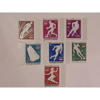 Бурунди 1976г. спорт