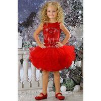 Шикарное платье из пайеток для маленькой принцессы