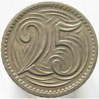Чехословакия 25 геллеров 1933 (84)
