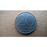 Польша 20 злотых, 1984г.  (Б-3)