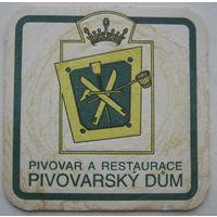 Подставка под пиво Pivovarsky Dum.