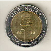 Нигерия 1 найра 2006