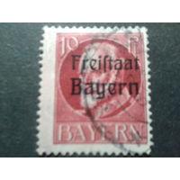Республика Бавария 1919 надпечатка