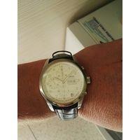 Часы наручные механический хронограф ORIS