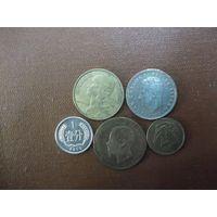 Пять монет/021 с рубля!