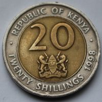 20 шиллингов 1998 Кения