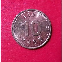 21-04 Южная Корея, 10 вон 2007 г.