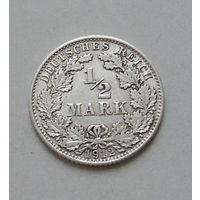 1/2 марки. 1912 г. D.