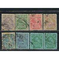 Иран Персия 1903-7 Герб Стандарт #186-90,234-5