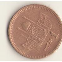 1 рупия 2001 г