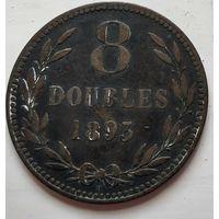 Гернси 8 дублей, 1893 1-9-10