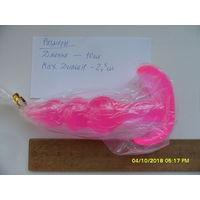 Интимная игрушка 10х2,5 см (Розового цвета)