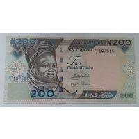 Нигерия 200 найра 2009 года UNC