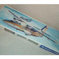 Винтажная сборная модель ГДР Турболёт L410 Turbolet комплект самолёт
