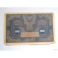 100 марок польских 1919