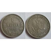 1 марка 1892 L серебро