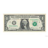 1 доллар США 2017 B Нью Йорк UNC