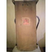 Старинные немецкие настенные часы Густав Беккер