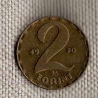 Венгрия 2 форинта 1970