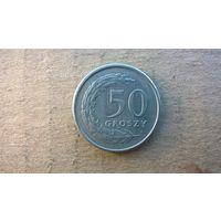 Польша 50 грошей, 1991г. (D-4)