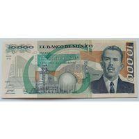 Мексика 10000 Песо 1989, XF, 709