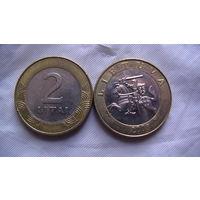 Литва 2 лита 2008г. распродажа