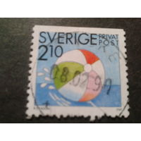 Швеция 1989 мяч