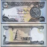 Ирак 250 динаров образца 2013 года UNC p97