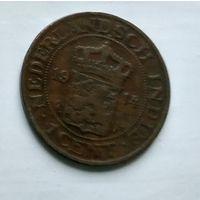 Голландская Ост-Индия 1 цент, 1914 2-8-10