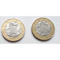 Италия 1000 лир, 1998 5-11-21*22