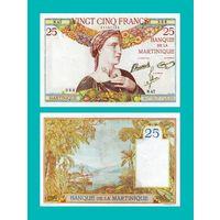[КОПИЯ] Мартиника 25 франков 1930-45 г.г.