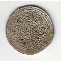 Тибет. 1 тангка (серебро)