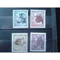 Южная Африка 1954 Стандарт, звери**
