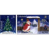 Молдова Новый год Рождество 2007**