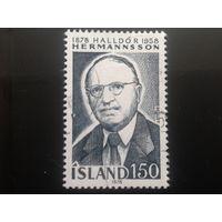 Исландия 1978 профессор, директор библиотеки