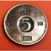 70-12 Швеция, 5 эре 1956 г.