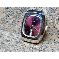 Часы Слава,позолота au10,лучеватый циферблат,редкие.Старт с рубля.