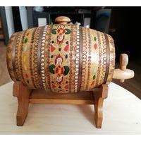 Бочка бочонок для вина из дерева