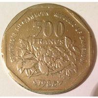 Камерун 500 франков, 10,89 г, 30,04 мм, медно-никелевая, Краузе - KM# 23