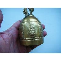 Буддийский бронзовый колокольчик. ТИБЕТ.