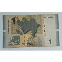 Азербайджан 1 манат 2005 г.
