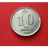 25-12 Турция, 10 куруш 2005 г.