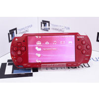 Красная портативная консоль Sony PSP 2001. Гарантия