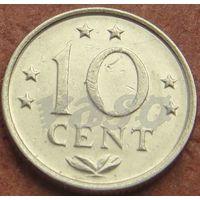 5012:  10 центов 1975 Антиллы