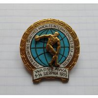 Варшава 1955 г. Международные Молодежные спортивные состязания