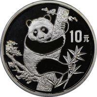 "Куплю монеты Китая (1987 - 2000) серебро (1 oz) ""Панда"" (UNC)"