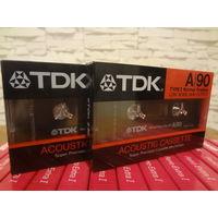 Кассеты новые TDK A 90 (made in JAPAN)