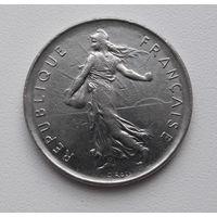 Франция 5 франков 1973 (Сова)_km926a.1