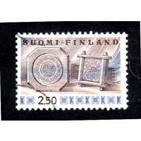 Финляндия.Ми-781. Сырные формы (резьба по дереву).Серия: Народное искусство. 1970.